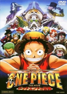 One Piece Movie 4: Cuộc Đua Tử Thần - One Piece Movie 4: Dead End Adventure 2003 Poster