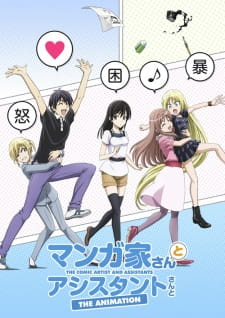 Mangaka-san to Assistant-san to The Animation Episode 01-12 [END] Subtitle Indonesia