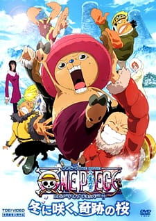 One Piece Movie 9: Hoa Anh Đào Kì Diệu - One Piece Movie 9: Bloom In The Winter - Miracle Sakura 2008 Poster