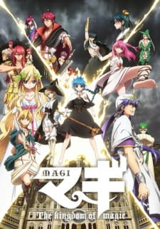 Magi The Kingdom Of Magic Ss2 - Magi Season 2 2013 Poster
