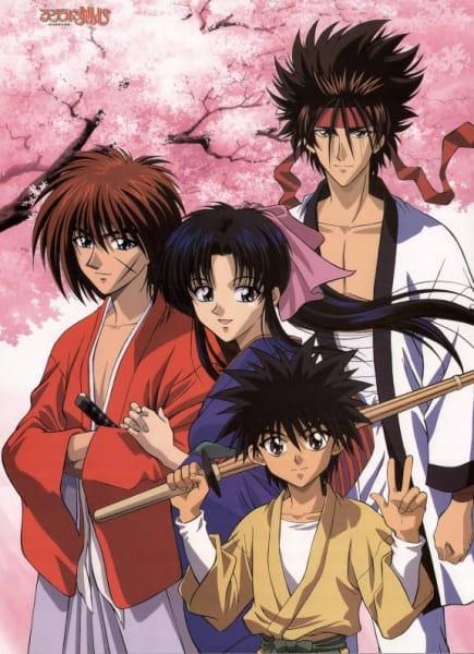 Бродяга Кэнсин / Rurouni Kenshin / Samurai X TV [TV] [1-95 из 95] [RUS(int),JAP,ENG+SUB RUS+SUB ENG] [1996 г., самурайский боевик, история, приключения, романтика, 26xDVD5] [Любительская]