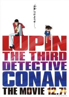 Lupin Iii Vs Detective Conan Movie - Lupin Iii Vs Detective Conan: The Movie 2013 Poster