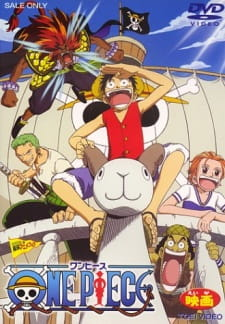 One Piece The Movie 1 : Đảo Châu Báo - One Piece The Movie 1 : The Great Gold Pirate 2000 Poster