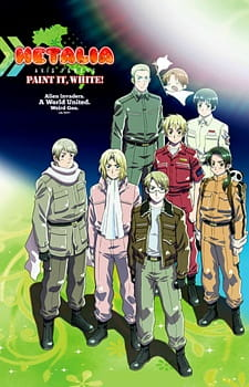 Hetalia Axis Powers Movie: Paint It, White - Hetalia Axis Powers Movie: Paint It, White 2010 Poster