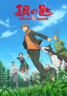 Silver Spoon - Stagione 1 e 2 (2013-2014) 720p .mp4 Jap Sub-Ita