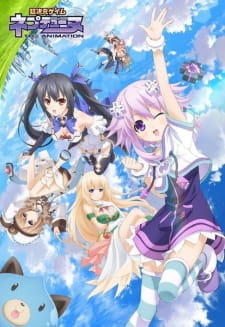 Choujigen Game Neptune The Animation - Choujigen Game Neptune: The Animation 2013 Poster