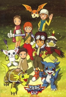 Digimon Adventure 02 - Digimon Season 2 2000 Poster