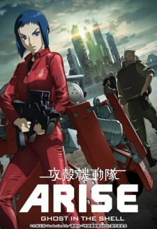 Anime Ghost in the Shell: Arise – Border:2 Ghost Whispers
