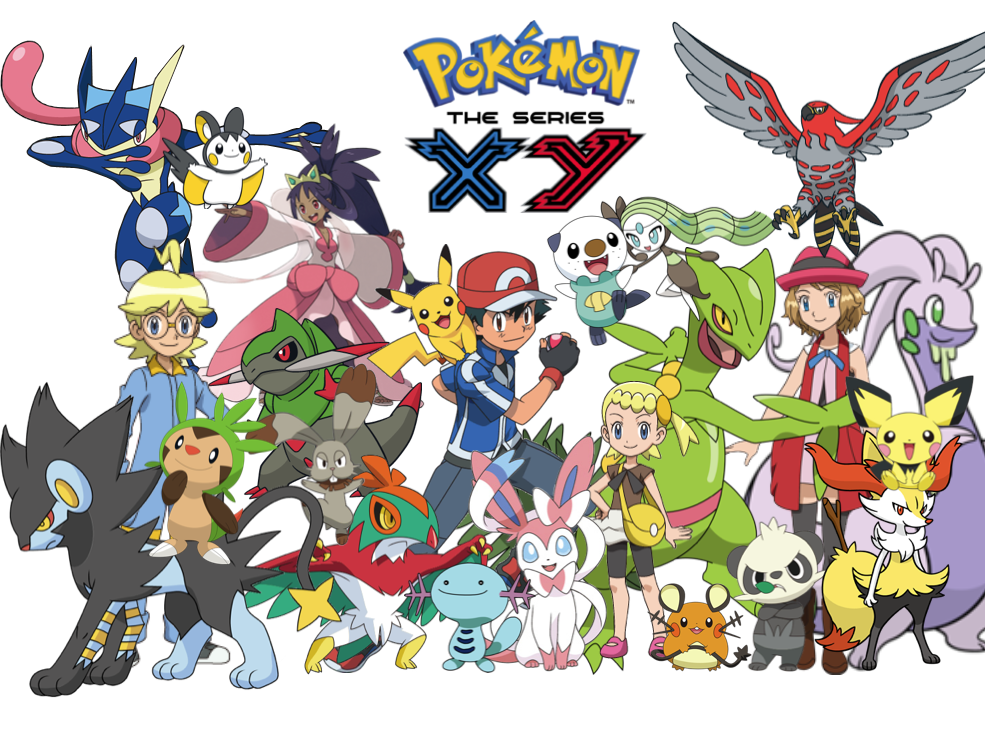 Pokémon Xy Everything You Need To Know About The Characters