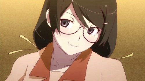 Cute anime characters with glasses
