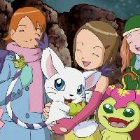 Girls from the Worlds of Digimon