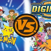 Digimon vs Pokemon: Children and their Cute Monster Partners
