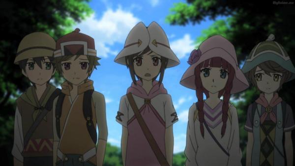 Shinsekai Yori, Saki Watanabe, Satoru Asahina, Maria Akizuki,