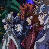 The Seven God Warriors of Asgard of Saint Seiya
