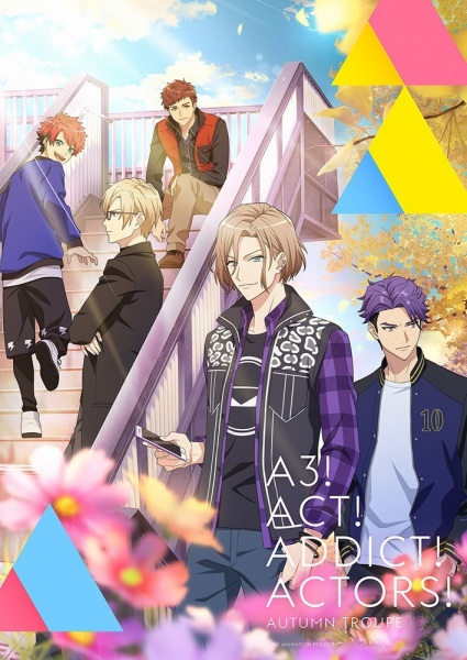 A3! Season Autumn & Winter Anime Cover