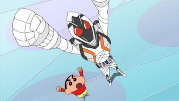 Kamen Rider Fourze x Crayon Shin-chan, 仮面ライダーフォーゼ×クレオンしんちゃん