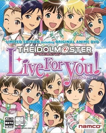 The iDOLM@STER Live For You!, THE IDOLM@STER Live For You!,  The Idolmaster Live For You!,  アイドルマスター ライブフォーユー!
