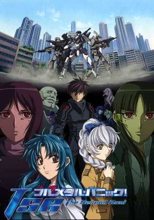 Cover Fullmetal Panic! The Second Raid