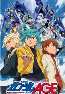 Mobile Suit Gundam AGE Sub Indo Episode 01-49 End BD