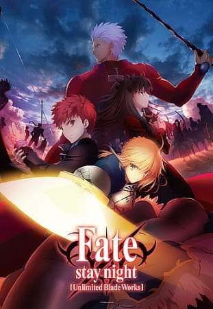 Fate/stay night [Unlimited Blade Works], Fate/stay night [Unlimited Blade Works],  Fate/stay night (2014), Fate - Stay Night,  Fate/stay night [Unlimited Blade Works]