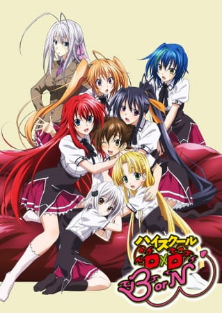 Cover High School DxD Born