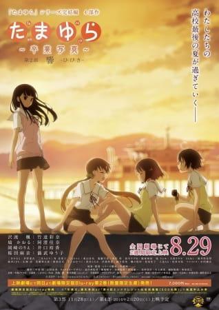 Tamayura: Sotsugyou Shashin Part 2 - Hibiki, Tamayura Kanketsu-hen Movie 2,  たまゆら~卒業写真~ 第2部 響-ひびき-
