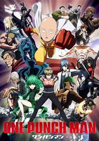 One Punch Man, One Punch Man,  One Punch-Man, One-Punch Man, OPM,  ワンパンマン