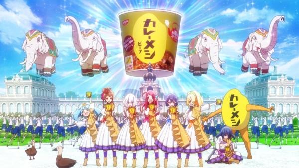 Curry Meshi x Zombieland Saga, カレーメシ×ゾンビランドサガ