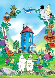 Tanoshii Muumin Ikka, Mumins, Delightful Moomin Family, Fun Family Moomin, The Moomins,  楽しいムーミン一家