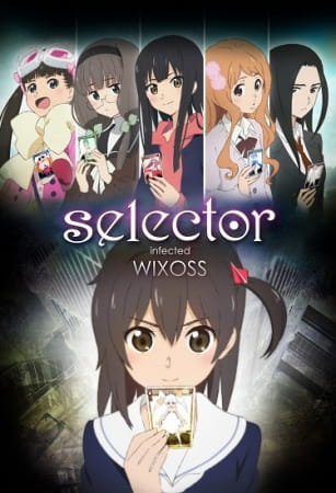 Selector Infected WIXOSS Anime Cover