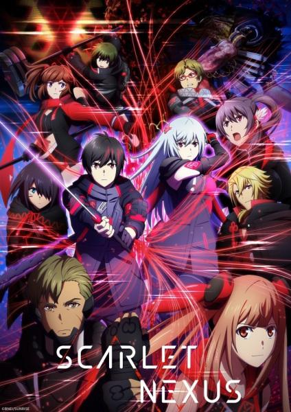 Scarlet Nexus Anime Cover