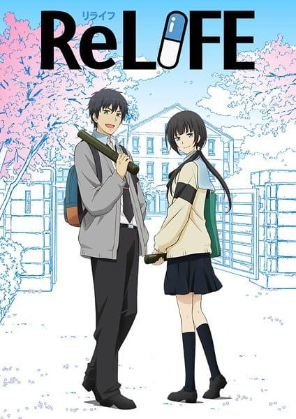 ReLIFE: Kanketsu-hen Anime Cover