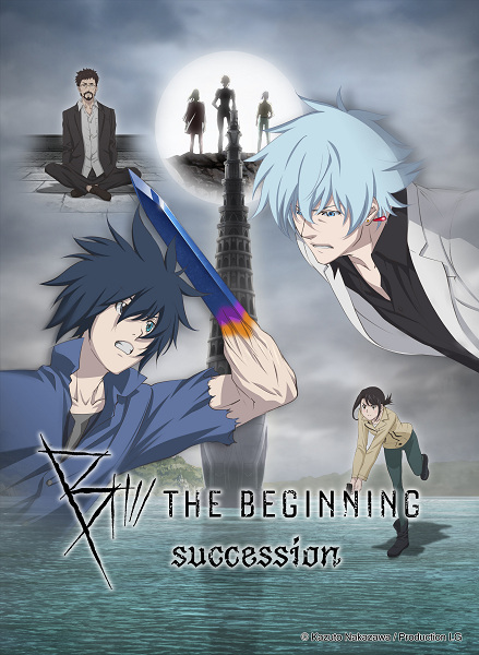 B: The Beginning Succession Anime Cover