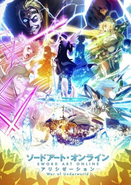 Cover Sword Art Online: Alicization - War of Underworld (2020)