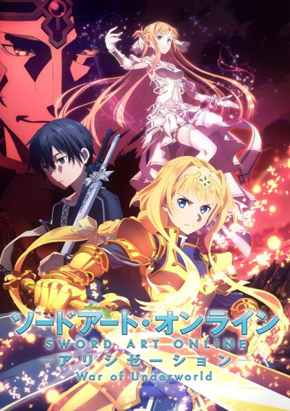 Sword Art Online: Alicization - War of Underworld, Sword Art Online: Alicization 2nd Season, Sword Art Online III 2nd Season, SAO Alicization 2nd Season, Sword Art Online 3 2nd Season, SAO 3 2nd Season, SAO III 2nd Season,  ソードアート・オンライン アリシゼーション War of Underworld