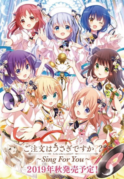 Gochuumon wa Usagi Desuka??: Sing for You-