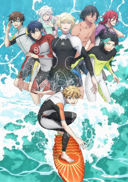 Wave!! Surfing Yappe!! (TV) Anime Cover