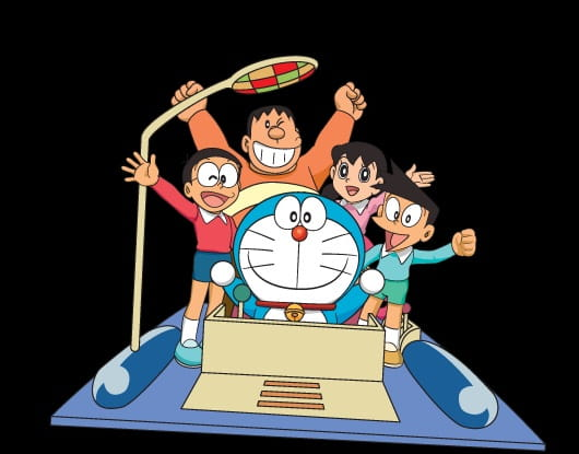 Doraemon: Time Machine de Oshougatsu, Doraemon's Time Capsule for 2001,  ドラえもん タイムマシンでお正月