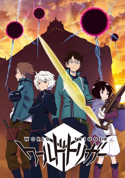 World Trigger Anime Cover