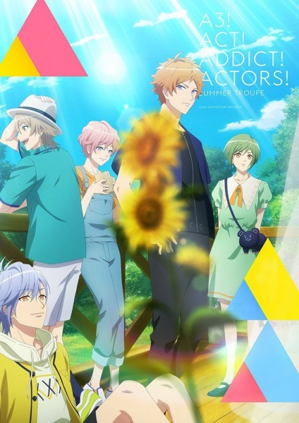 A3! Season Spring & Summer Anime Cover