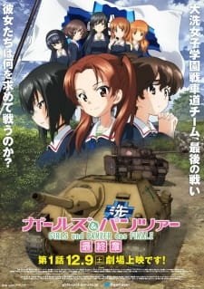Girls & Panzer: Saishuushou Part 1 مترجم