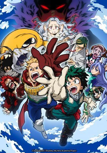 Boku No Hero Academia 4th Season My Hero Academia 4 Myanimelist Net