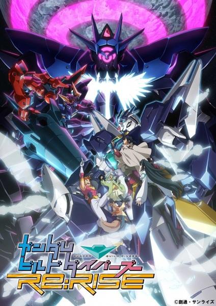 Cover Gundam Build Divers Re:Rise (2020)