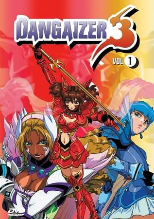 Cover Choushin Hime Dangaizer 3