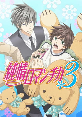 Junjo Romantica 3, Junjo Romantica 3,  Junjou Romantica Third Season,  純情ロマンチカ 3