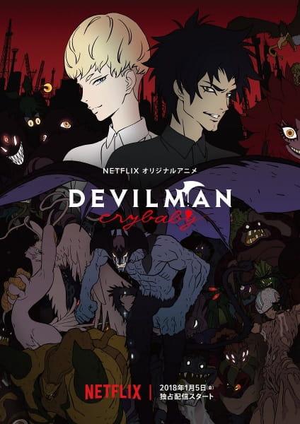 Devilman: Crybaby, Devilman: Crybaby,  DEVILMAN crybaby