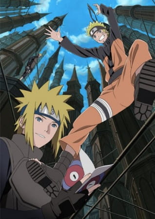 Naruto: Shippuuden Movie 4 - The Lost Tower poster