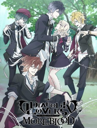 Diabolik Lovers II: More,Blood, Diabolik Lovers II: More,Blood,  Diabolik Lovers 2nd Season, Diabolik Lovers Second Season,  DIABOLIK LOVERS MORE,BLOOD