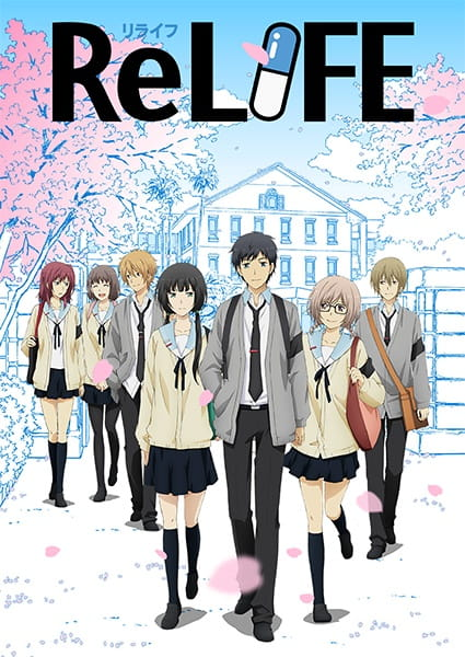 ReLIFE Anime Cover