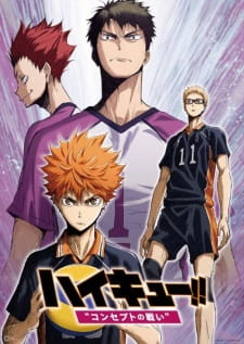 Haikyuu!! Movie 4: Concept no Tatakai